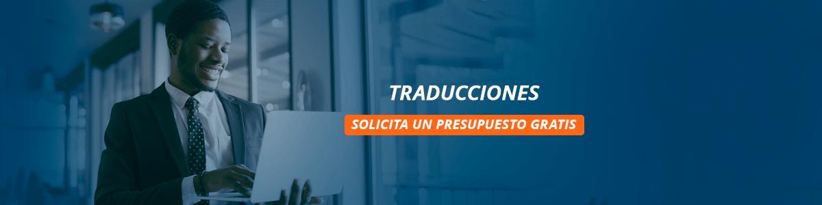 Traducciones solicita un presupuesto gratis